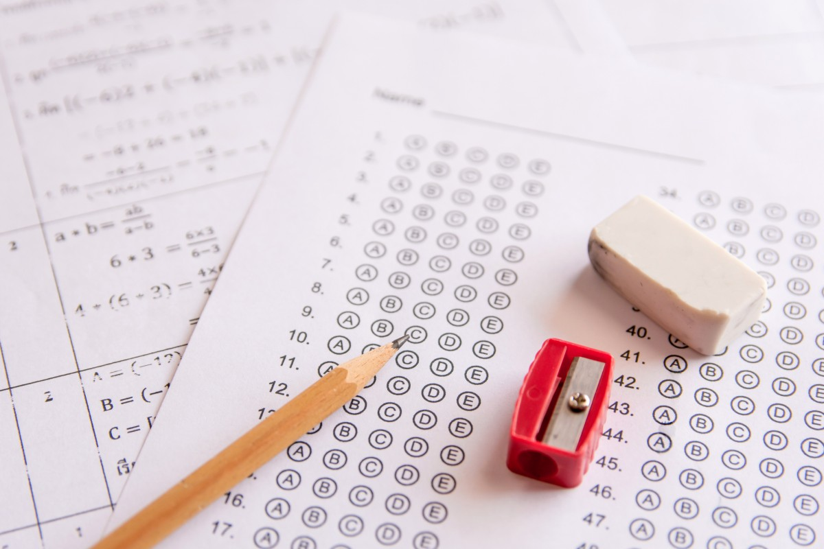 As colleges go test optional for domestic applicants, they