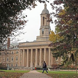 This is Old Main on the Penn State University main campus in State College, Pa.